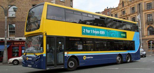 ダブリン, アイルランド, 留学, バス