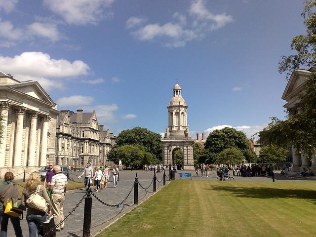 アイルランド留学, 観光, ダブリン