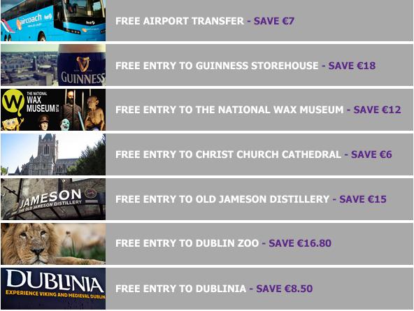 ダブリン, アイルランド, 旅行, Dublin Pass, ダブリンパス