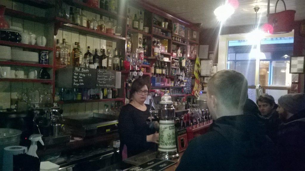 ダブリン, アイルランド, カフェ, ブラジル料理