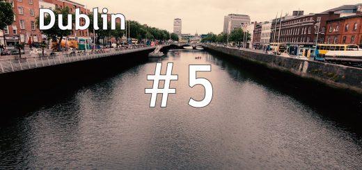 アイルランド、ダブリンvlog